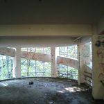 雄別炭鉱病院跡