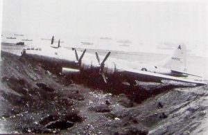 B-29撃墜墜落現場