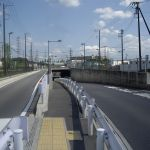 新三郷のトンネル