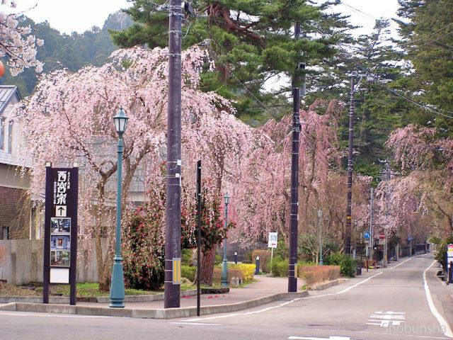 角館街道の下のトンネル(富士見町のトンネル)1番目