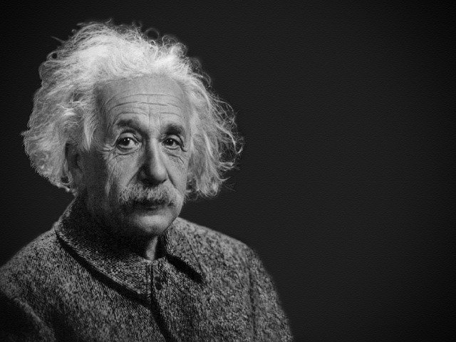 アインシュタインの肖像画
