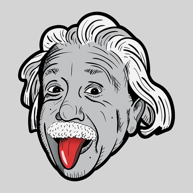 アインシュタイン舌出し肖像画
