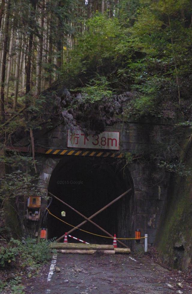 旧真弓トンネル
