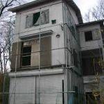 赤城山の白い家