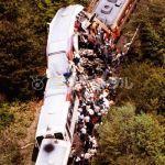 信楽高原鐵道列車正面衝突事故現場