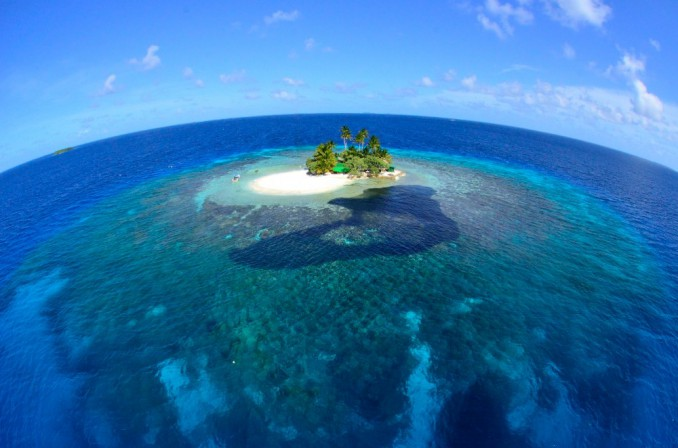 非現実世界の南の島「ジープ島」