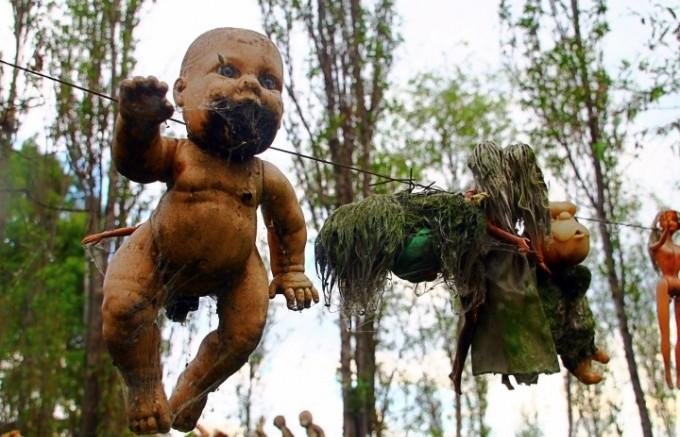 メキシコ 人形の島