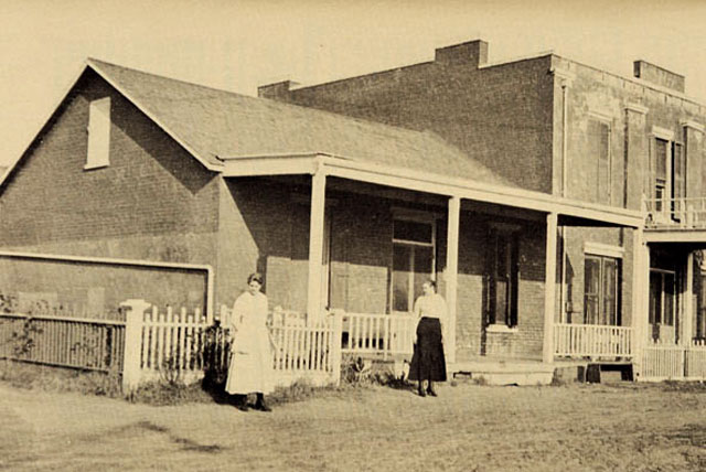 Whaley 'the gallows' House