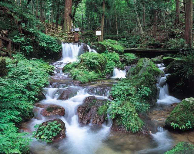 瓜割の滝(天徳寺)