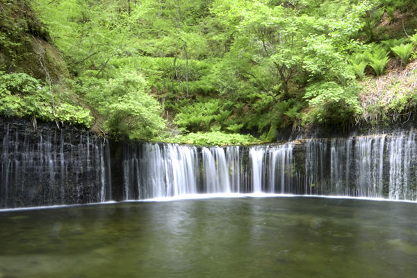 白糸の滝、