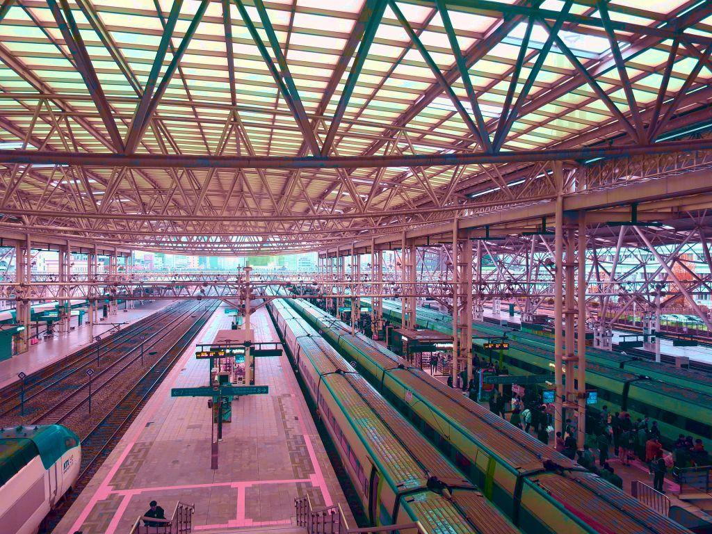 電車型タイムマシンのイメージ