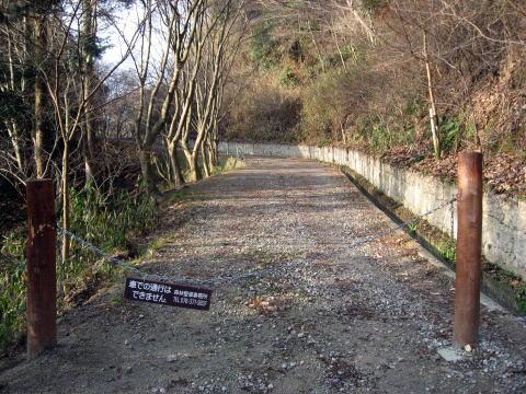 七三峠のトンネル