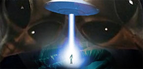 宇宙人に誘拐されUFOで宇宙に連れていかれた