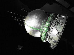 ソ連の宇宙船カプセル