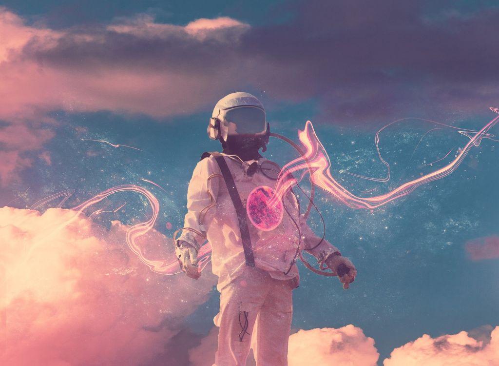 宇宙飛行士イメージ