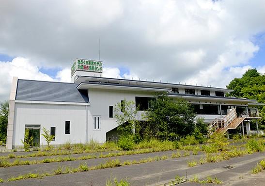 阿武隈高原温泉廃墟