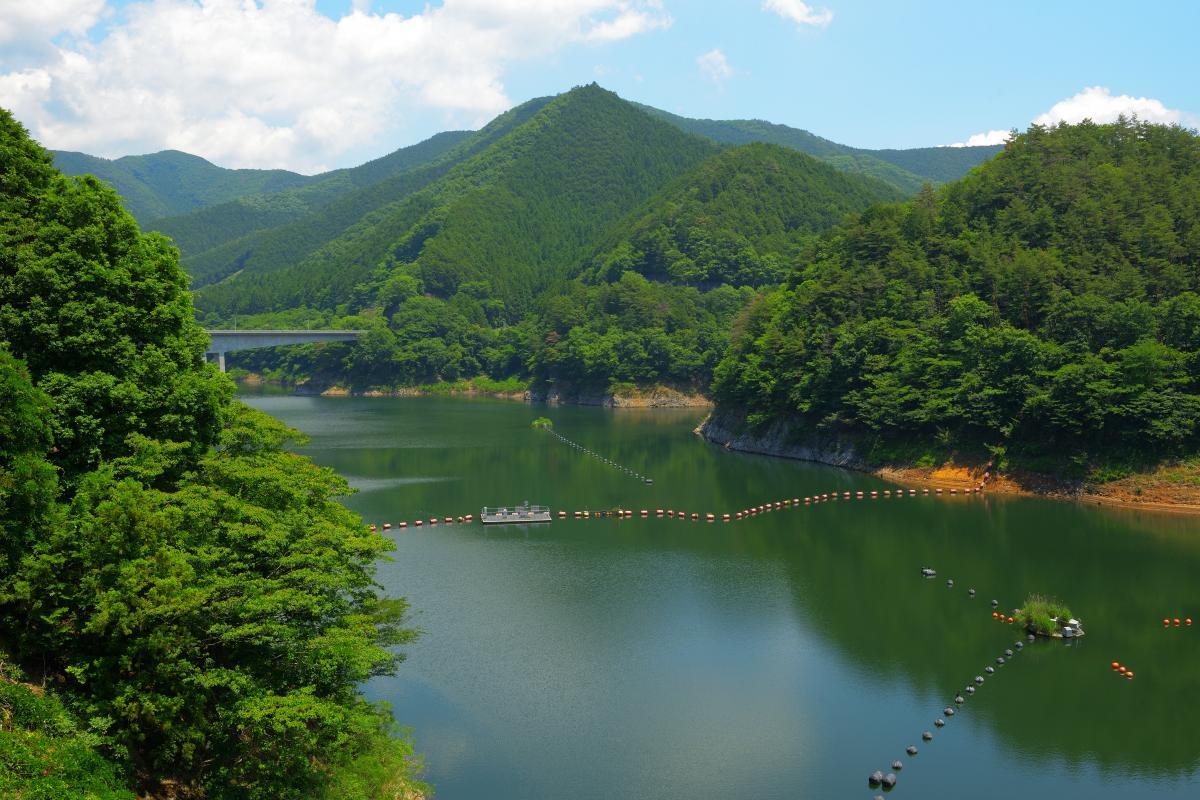 桐生川ダム(梅田湖)